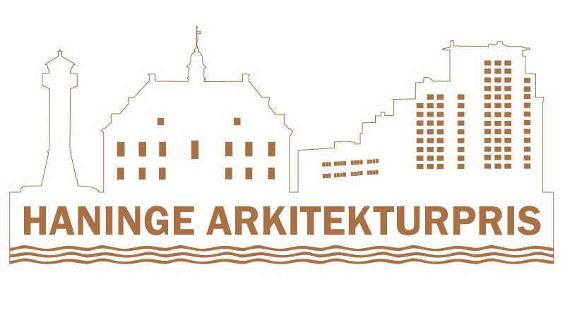 Logotype för Haninge arkitekturpris